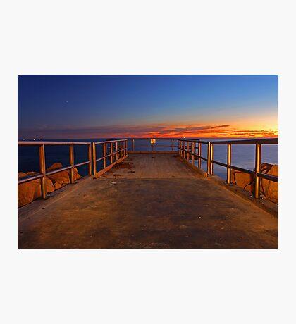 North Beach Jetty  Photographic Print