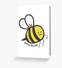 Bees Knees Greeting Card