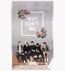 in flower frame Poster