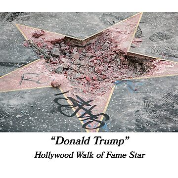 Donald Trump's Hollywood Walk of Fame Star by PaulyH