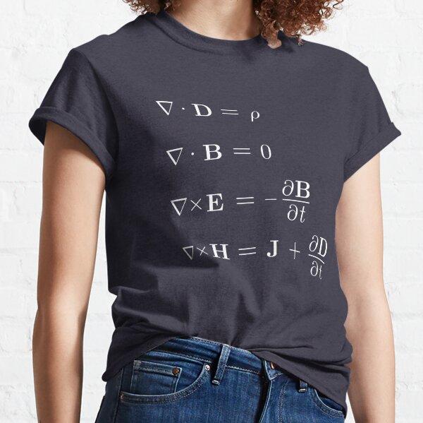 Maxwell Equations Classic T-Shirt