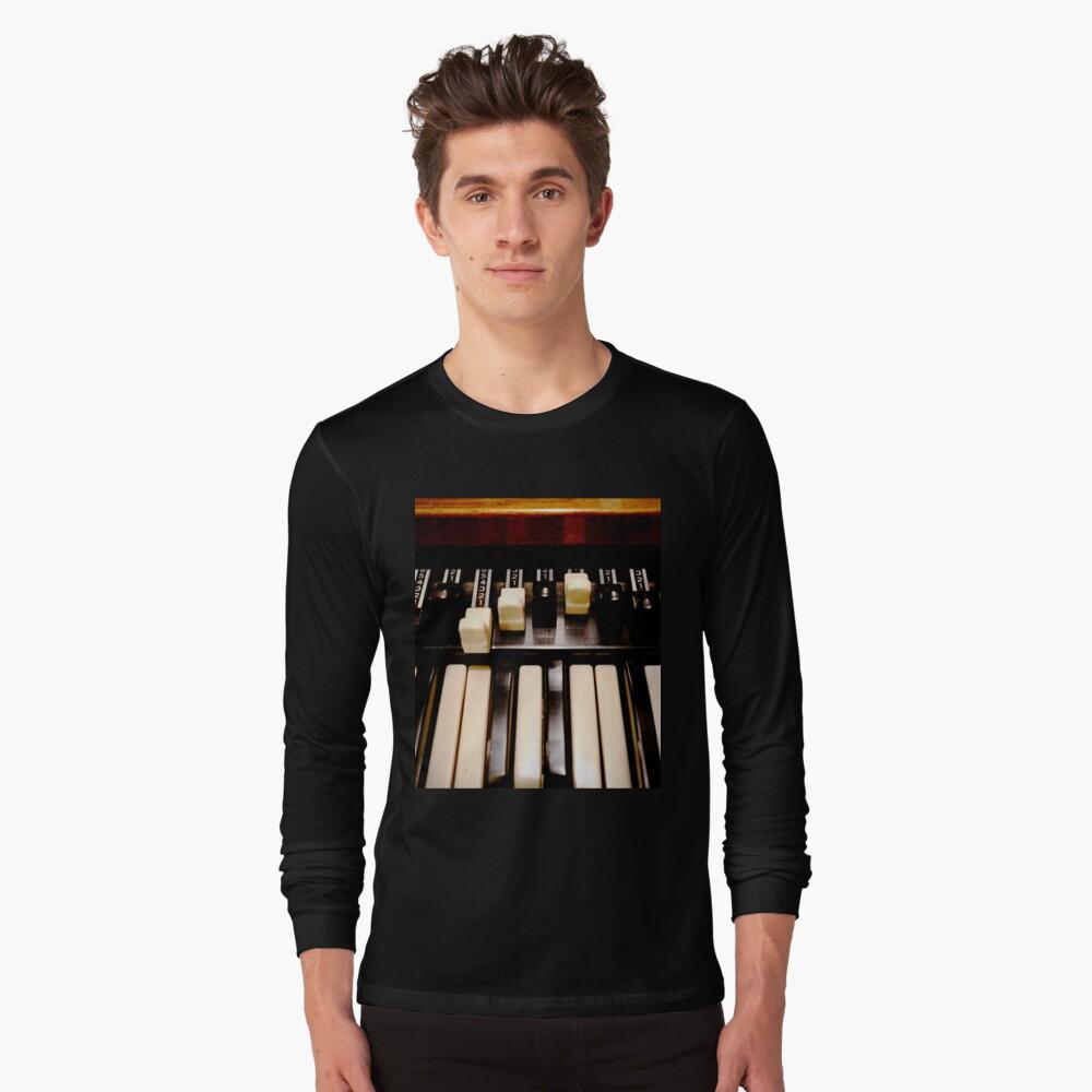 Hammond B3 Organ Long Sleeve T-Shirt