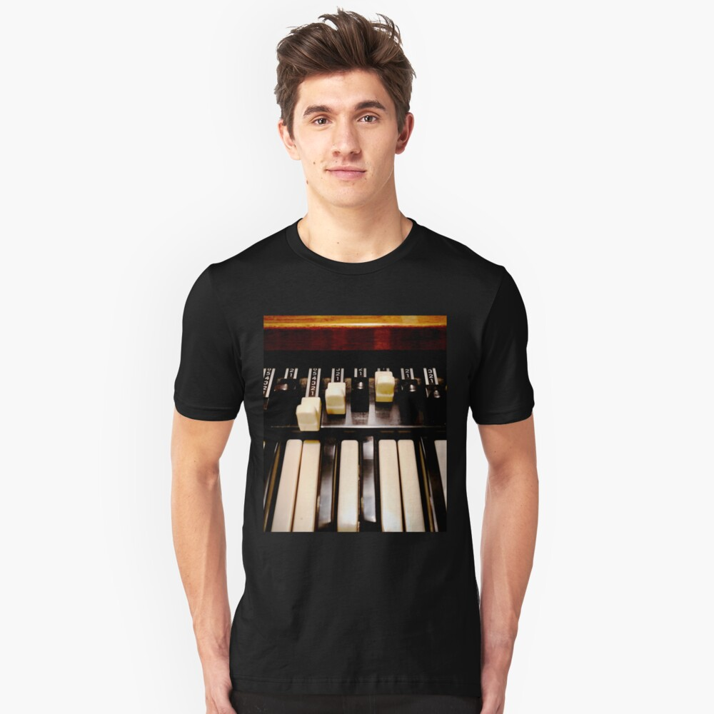 Hammond B3 Organ Slim Fit T-Shirt