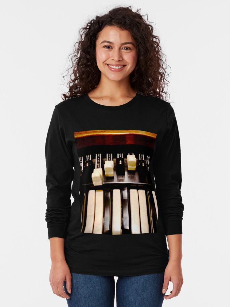 Alternate view of Hammond B3 Organ Long Sleeve T-Shirt