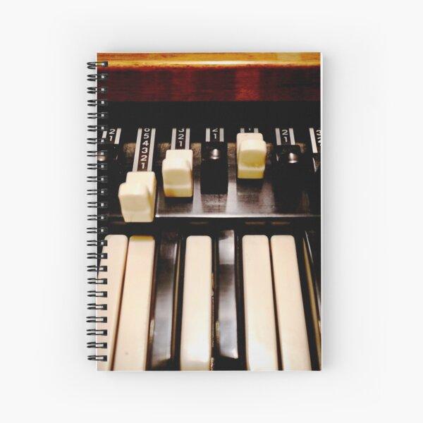 Hammond B3 Organ Spiral Notebook