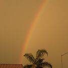Rainbow in AZ. by Bonnie Pelton