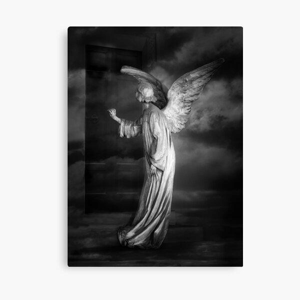 Angel at My Door Canvas Print