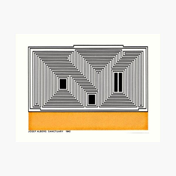 Vintage Bauhaus Design...by Josef Albers Art Print