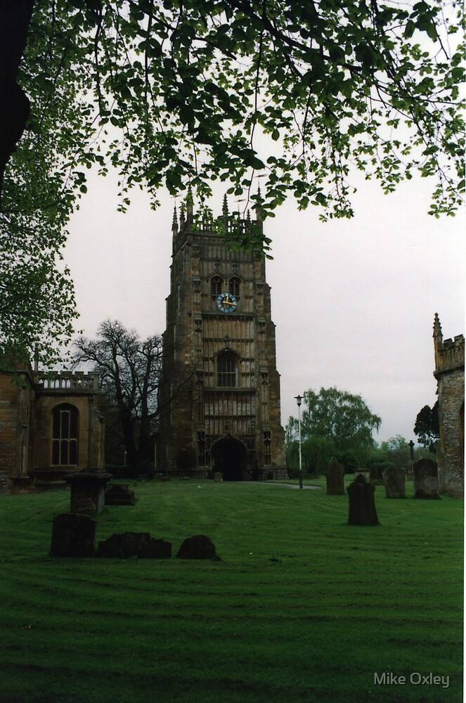 Evesham Abbey by Mike Oxley