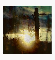 TOUCHING THE SUN Photographic Print