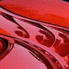 Car Reflections Abstract by Ellen Cotton