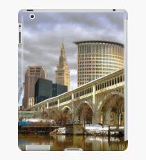 Detroit Superior Bridge Cleveland, Ohio iPad Case/Skin