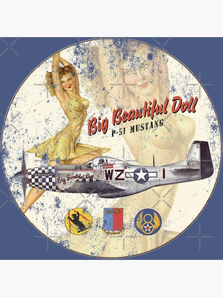 P-51 Mustang - Big Beautiful Doll by racecar32