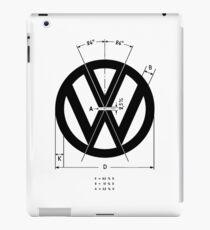 Volkswagen Logo Angles iPad Case/Skin