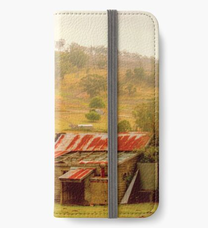 Country Charm .. Gippsland iPhone Wallet