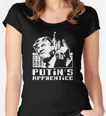 Putins Apprentice Anti-Trump T-shirt Women's Fitted Scoop T-Shirt