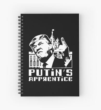 Putins Apprentice Anti-Trump T-shirt Spiral Notebook