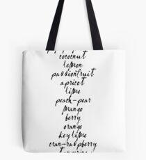 LA CROIX FLAVORS Tote Bag