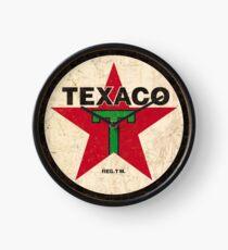 Texaco - Weinlese-Zeichen Uhr