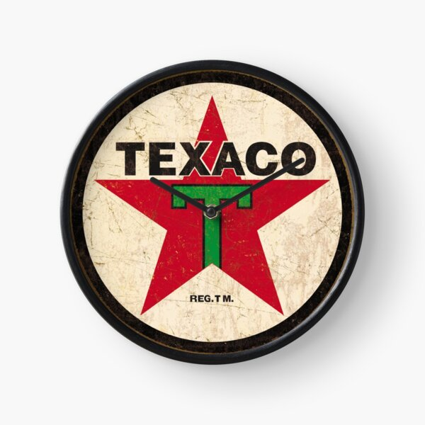 Texaco - Vintage Sign Clock