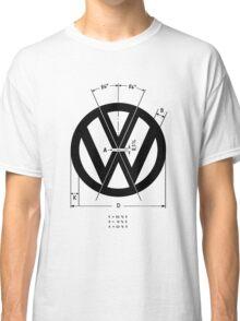 Volkswagen Logo Angles Classic T-Shirt