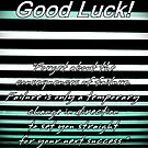 Good Luck! by Greeting Cards by Tracy DeVore