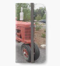Vintage Tractor, Albuquerque, New Mexico iPhone Wallet/Case/Skin