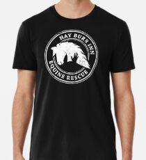 Hay Burr Inn Equine Rescue Logo  Premium T-Shirt