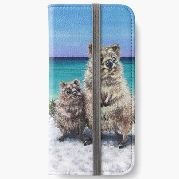 Quokka and Joey iPhone Wallet
