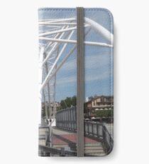 Modern Bridge, Denver, Colorado iPhone Wallet/Case/Skin