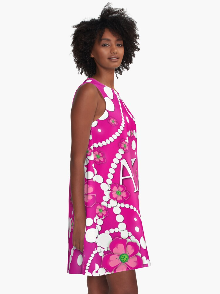 Alternate view of Petals and Pearls A-Line Dress