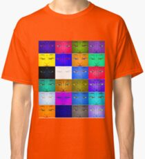 many faces Classic T-Shirt