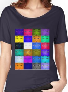 many faces Women's Relaxed Fit T-Shirt