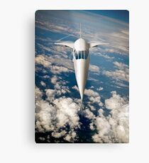 Concorde going for it Metal Print