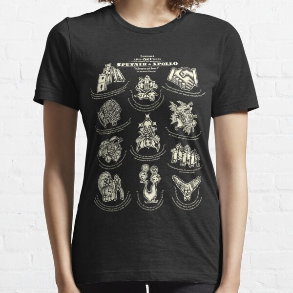 Lessons from 50 years of Sputnik and Apollo. American mythology tee #3. Essential T-Shirt