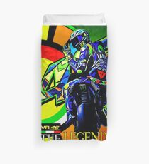 VR the legend Duvet Cover