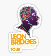 Leon Bridges Sticker