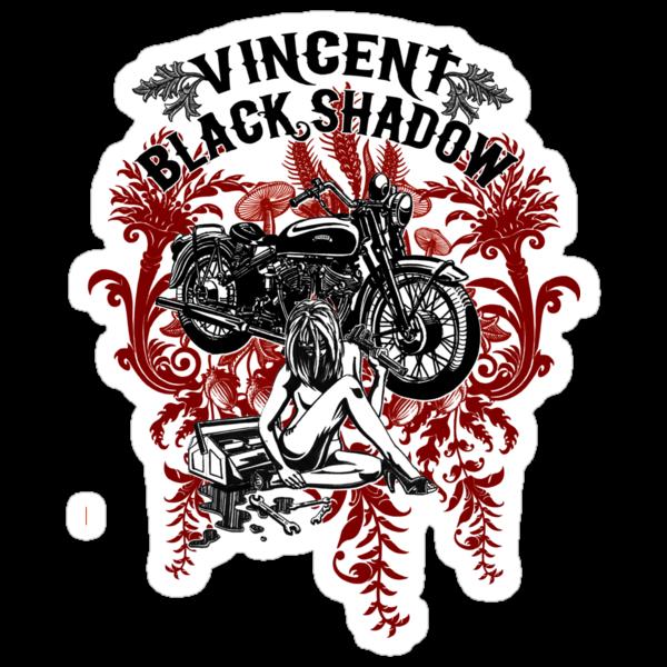 Vincent Black Shadow by Evan F.E. Lole