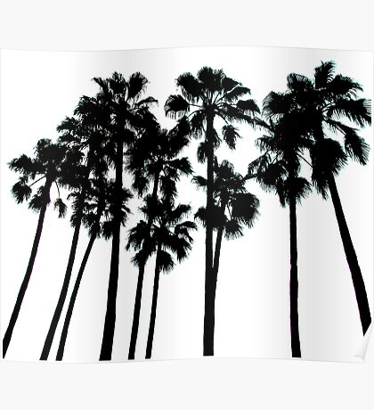 palm skyline ... Poster