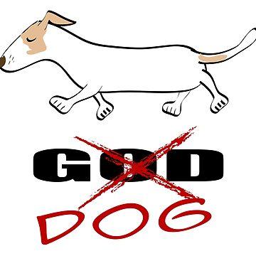 GOD dog by Khanagirl