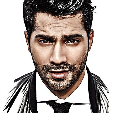 Varun Dhawan Face by bollywood-tees