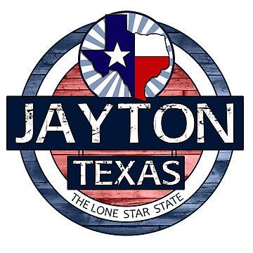 Jayton Texas rustic wood circle by artisticattitud
