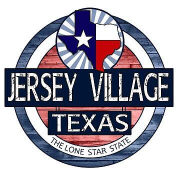 Jersey Village Texas rustic wood circle by artisticattitud