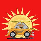 Sun, Surf and Sausage Dogs by Diana-Lee Saville