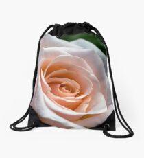 Silken Rose Drawstring Bag