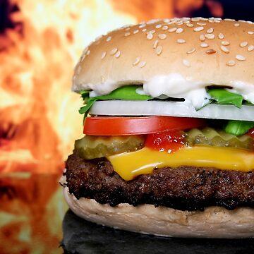 The Cheeseburger by wesleytopia
