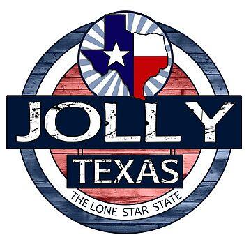Jolly Texas rustic wood circle by artisticattitud