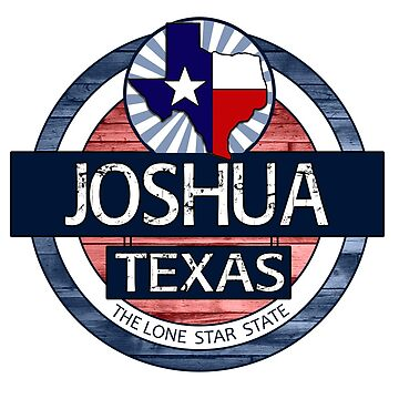 Joshua Texas rustic wood circle by artisticattitud