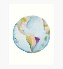 Earth, pass it on. Art Print