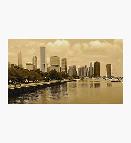 RICHNESS  OF CHICAGO Photographic Print